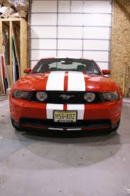 Black Mustang Red Stripes Red Mustang With White Racing Stripes Coastal Sign U0026 Design Llc