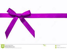 purple satin ribbon purple satin bow on a satin ribbon stock photo image 27964100