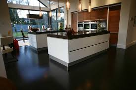 Laminate Kitchen Flooring Dark Laminate Flooring Kitchen And Modern New Build Giordano