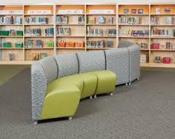 comfy library chairs mobile furniture flexibility add up for a school