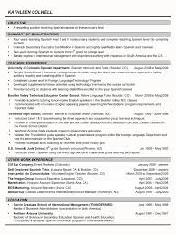 Sample Resume For Tutors by After Tutor Cover Letter