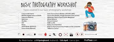 basics of digital photography at 91springboard andheri east atc