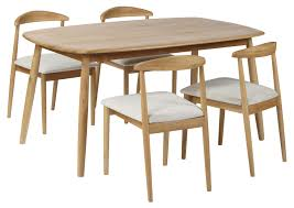 retro fixed top dining table from tannahill furniture ltd