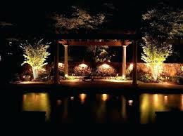 Low Voltage Led Landscape Lighting Sets Led Line Voltage Landscape Lighting Low Voltage Outdoor Lighting