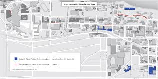 University Of Wisconsin Campus Map by Winter