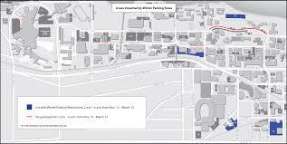 Uw Madison Campus Map Winter