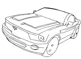 free coloring pages of mustang cars printable race car coloring pages wisekids info