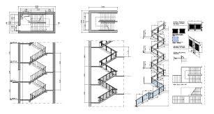 free rc stair details free cad blocks u0026 drawings download center