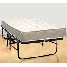 Folding Bed With Mattress Complete Metal Folding Cot With Springs And Premium Foam Mattress