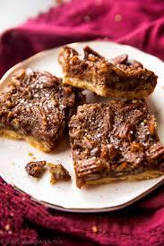 pecan pie thanksgiving brown butter pecan pie bars sallys baking addiction