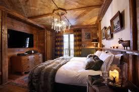 chambre chalet deco chambre chalet montagne décoration intérieur chalet montagne 50