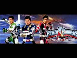 power rangers 2010 movie opening galactic police force