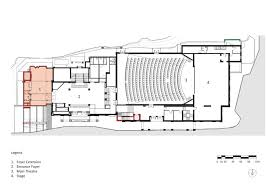 opera house floor plan gallery of alterations and renovations to the port elizabeth opera