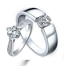 wedding rings for couples cheap sterling silver cubic zirconia cz wedding engagement ring
