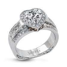 band engagement ring 18k white gold wide band engagement ring collection
