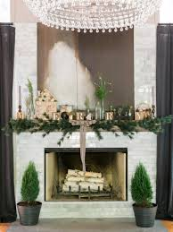 28 christmas mantel decorating ideas hgtv