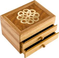 unique box knot jewelry box original work of wood unmatched quality