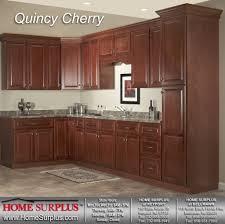 kitchen cherry cabinets