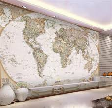 popular wallpaper murals 3d world map buy cheap wallpaper murals custom 3d photo wallpaper mural living room europe world map painting sofa tv background wall non