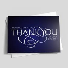 shop employee and customer appreciation greeting cards