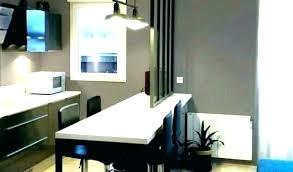 s駱arer la cuisine du salon meuble separation cuisine salon aussi salon separation cuisine