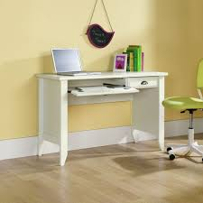 White Desk Amazon Com Sauder Shoal Creek Computer Desk Soft White Finish