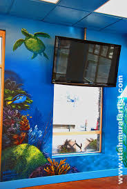 265 best murals images on pinterest murals kids rooms and mural the wall surrounding the flat screen tv
