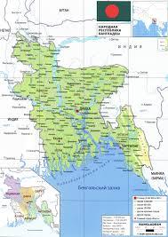 Map Of Bangladesh Bangladesh