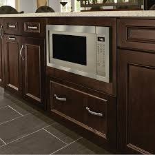 how to trim base cabinets base built in microwave cabinet 27 kraftmaid