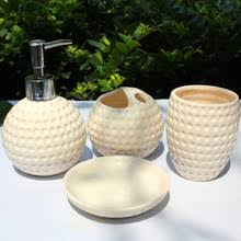 buy beige bathroom accessories and get free shipping on aliexpress com