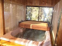 massage tub wood fireplace retreat muskoka cottage rentals