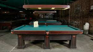 brunswick mission pool table oak park church to sell iconic billiards tables chicago tonight wttw