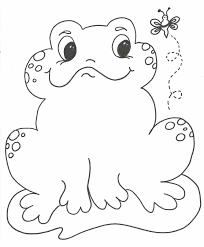 coloring pages animals frog frog pictures to color coloring