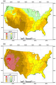 us dewpoint map mapping atmospheric moisture climatologies across the conterminous