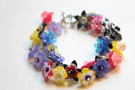 how to make a lucite flower bracelet emerging creatively jewelry
