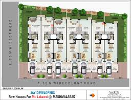 row house floor plan design ideas row house layout plan 10 plans designs