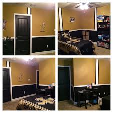 Orleans Bedroom Furniture by Previous Pinner Final Product New Orleans Saints Bedroom Love