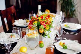 Orange Lemon Lime Wedding Table Decor Ideas Elizabeth Anne