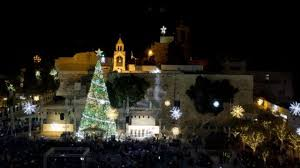 lights switched on in bethlehem cbbc newsround