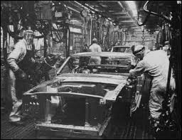ford mustang assembly plant tour 1965 ford mustang vintage factory assembly line workers cars