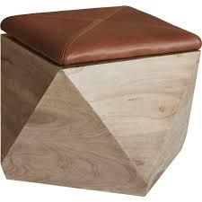 hexagon storage ottoman blanket stitch ottomans and stools