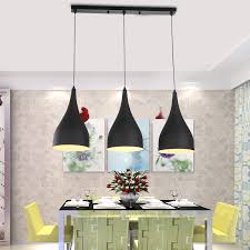 Black Kitchen Light Fixtures Modern Pendant Light Loft Kitchen Design Rope L Matte Black