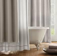 Restoration Hardware Shower Curtains Designs Restoration Hardware Shower Curtain Pmcshop