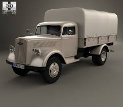 opel old old truck 3d models download hum3d