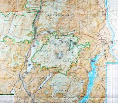 Lake Mead Map Trail Map Of Lake George Great Sacandaga New York U0027s Adirondack