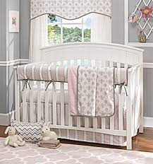 Gray And Pink Crib Bedding Liz And Roo Baby Bedding Pink Pink And Gray Baby Bedding