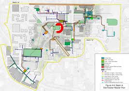 Gatech Campus Map Up With The White Gold U0026 Green