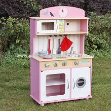 playpink cuisine china kid s pretend play pink wooden kitchen from wenzhou