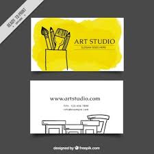 Studio Visiting Card Design Psd Artist Business Card Vectors Photos And Psd Files Free Download