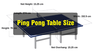 stores that sell ping pong tables what ping pong table sizes are accepted today sport life z